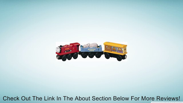 Learning Curve Thomas and Friends Wooden Railway - Ivo Hugh with Zoo Cars Review