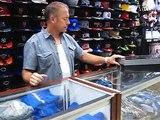 Nike Air Jordan 5 - White, Navy _ Red - at Street Gear, Hempstead NY