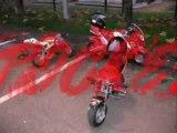 stunt pocket wheels & stoppies