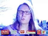 Vidéo Gemel Ben Said et Anne Rose le Van , Candidats élections départementale 2015 Canton 4 de Montpellier.