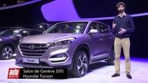 Nouveau Hyundai Tucson : petit frère du Santa Fe - Salon de Genève 2015 : présentation vidéo live
