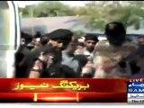 Rassi Jal Gayi Par Bal Nahin Gaya - MQMs Amir Khan Making Victory Sign After ATC Hearing Today