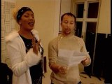 Melanie Thornton & DJ Bobo Recording Love Of My Life + Interview with DJ Bobo (Unedited Live Vocals) (22.11.2001)