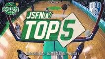 Top 5 - JSF Nanterre vs New Basket Brindisi (10/03/15) (EuroChallenge 1/4 Finale - M1)