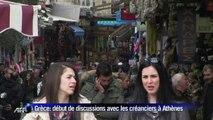 Grèce: début de discussions avec les créanciers à Athènes