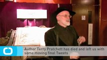 Author Terry Pratchett Has Died and Left Us With Some Moving Final Tweets