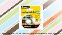 Scotch® Removable DoubleSided Tape 3/4 inch x 400 inches Dispenser  (667) Review