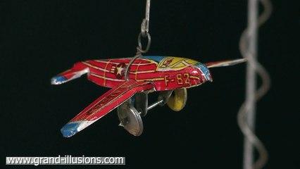 Airplane Tin Toy