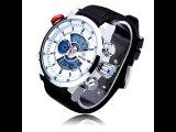 Weide WH3401 Multi Function Week 24h Date Men Sport Big Dial Watch
