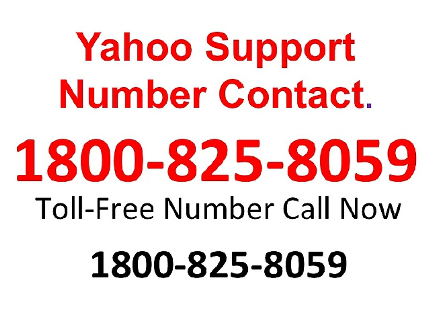 1800-825-8059 Yahoo Support Number Contact,Yahoo Toll Free Number,Yahoo