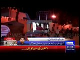 MQM's Workers Removed Barriers Outside Nine Zero