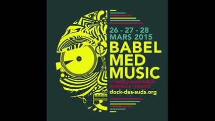 BABEL MED  MUSIC 2015 - conférence presse à Paris