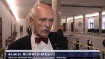 """Janusz Korwin-Mikke o """"frankowcach"""" (28.01.2015)"""