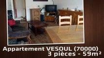 A vendre - Appartement - VESOUL (70000) - 3 pièces - 59m²