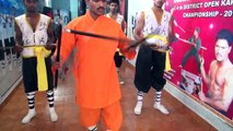 Kung-fu -11 India Shaolin Temple Forms Wushu Warrior Monk Taolu Training Tutorial AP Fitness