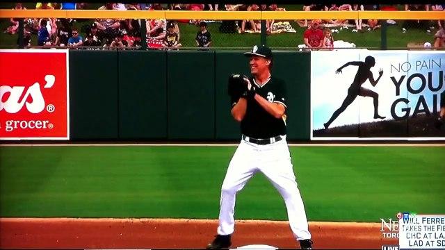 Will Ferrell plays MLB