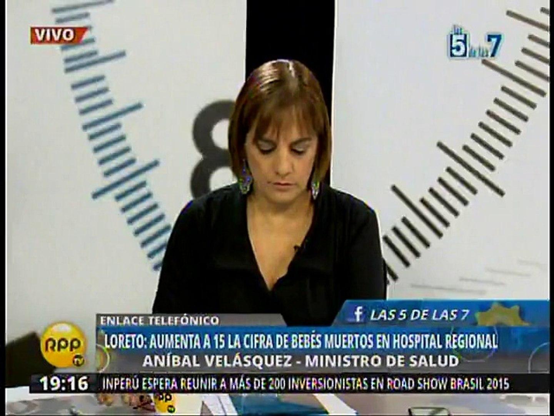 Loreto: Minsa aclaró que solo un bebé murió en hospital por bacteria