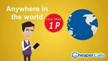 Make cheaper International Calls with the Cheaper Calls Phone Service