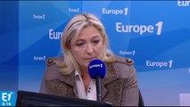 """Marine Le Pen : """"je serai d'une fermeté totale"""" avec les candidats qui dérivent"""