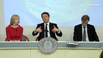 Renzi: le mani del governo sulla Rai? Fuori dalla realtà, per fare questo basta la Gasparri