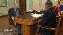 Des images de Poutine à la télévision russe après plusieurs jours de rumeurs