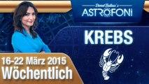 Monatliches Horoskop zum Sternzeichen Krebs (16-22 März 2015)