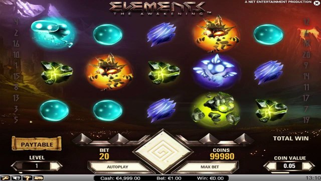 Elements - The Awakening™ par NetEnt | Machines à sous en ligne Gratuites | MachinesAsousX.com