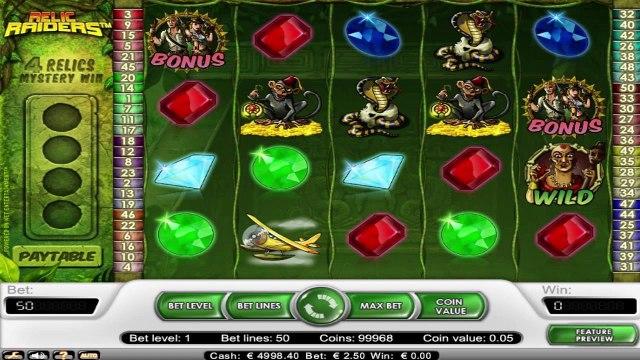 Relic Raiders™ par NetEnt   Machines à sous en ligne Gratuites   MachinesAsousX.com