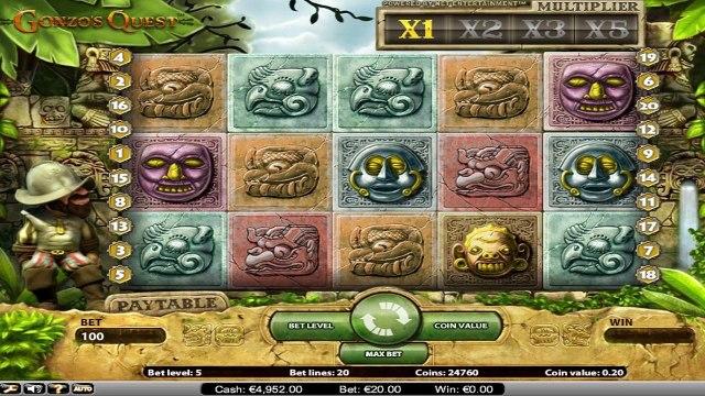Gonzo's Quest™ par NetEnt   Machines à sous en ligne Gratuites   MachinesAsousX.com