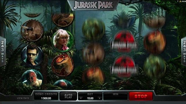 Jurassic Park™ par Microgaming   Machines à sous en ligne Gratuites   MachinesAsousX.com