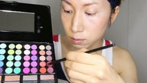 【ものまねメイク】〜浜崎あゆみ〜Tutorial Japanese artist Ayumi Hamasaki Makeup