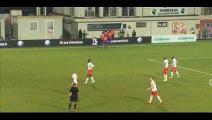 Goal Larbi - GFC Ajaccio 1-0 Nancy - 13-03-2015