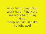 David Guetta - Play Hard (Lyrics) feat. Ne-Yo, Akon