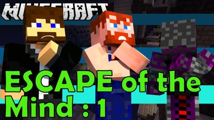 Minecarft Map ESCAPE OF THE MIND gameplay by NikNikamTV Ep 1