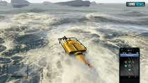Getting Inside the Underwater UFO - GTA 5 Easter Egg - video