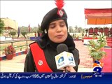 Karachi: 87th passing out parade ceremony at the Police Training Centre Saeedabad