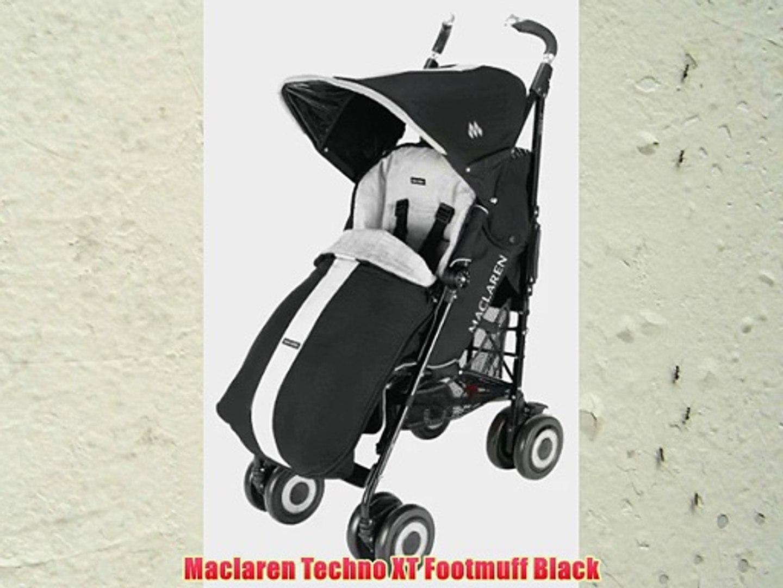 Maclaren Techno Xt Footmuff Black
