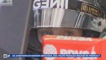 LE JT SOIR_Vendredi 13 Mars 2015_Les ambitions de Romain Grosjean, seul pilote Français engagé en Formule 1 (en Français - Canal+ - France) [RaceFan96]