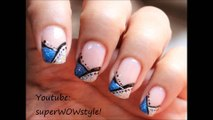 French Tip Manicure nail Art - Easy French manicure Nail Designs