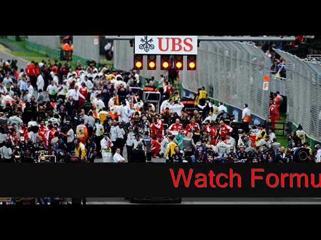 Watch Formula one Australian Grand Prix  Online