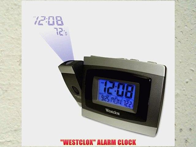 Westclox General Time 70006 Lcd Projection Digital Alarm Clock