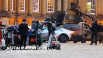 SPECTRE James Bond 007 first exclusive behind the scenes  footage Aston Martin DB10 Blenheim Palace