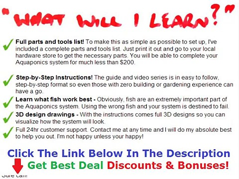 Easy Diy Aquaponics System Discount + Bouns