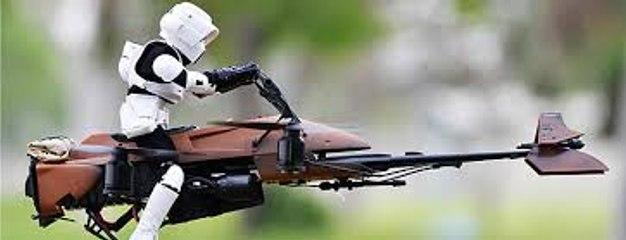 Jouet Star Wars : Imperial Speeder Bike