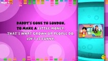 Mummys Gone To London Lyrical Video - English Nursery Rhymes Full Lyrics For Kids and Childrens