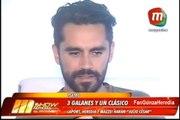 "Osvaldo Laport Gonzalo Heredia y Fabián Mazzei harán ""Julio Cesar"""