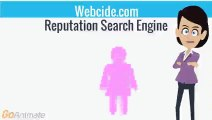 Webcide Negative Search Engine is collecting all negative available data about a person , from all major search engines and public databases and present you with precise negative search results.