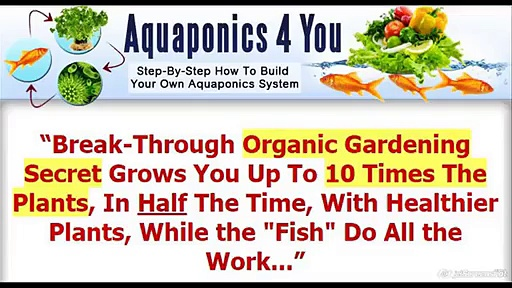 AQUAPONICS 4 YOU REVIEW & AQUAPONICS FOR YOU SYSTEM DESIGN