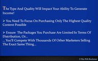 How to Find New High Quality Private Label Rights Content that people want to buy.