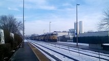 Rail Fanning Union Pacific Freight Trains Engine #8420 @t West Chicago, Illinois